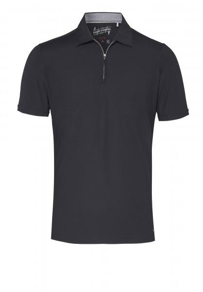 Functional Polo Zip slim fit